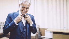 Andrea Bocelli llegará el viernes en avión privado para su concierto en Punta Cana