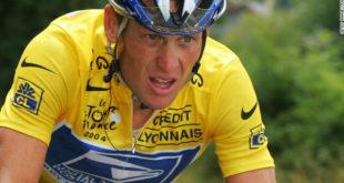 Lance Armstrong sufre accidente en bicicleta