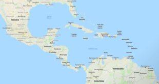 """Nombres """"el Caribe"""" y """"las Antillas"""", con el artículo en minúscula"""