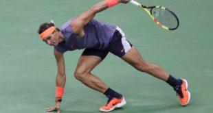 Nadal se retira de torneos en Beijing y Shanghái