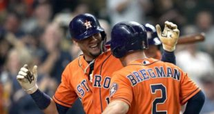 Con siete empujadas de Yuli Gurriel, los Astros aseguran su pase a postemporada