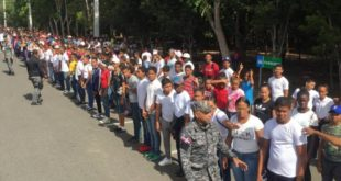 Policía Nacional lanza programa de Policía Juvenil Comunitario en Santiago