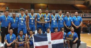 Dominicana gana la medalla de oro en Centrobasket U-15