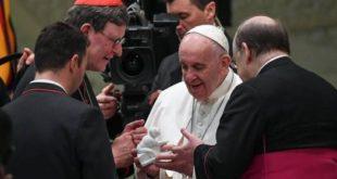 """El papa afirma que """"si la riqueza no se comparte, la sociedad se divide"""""""