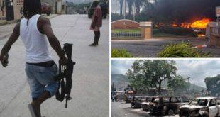 Siete extranjeros y un haitiano son detenidos en Haití con armas automáticas
