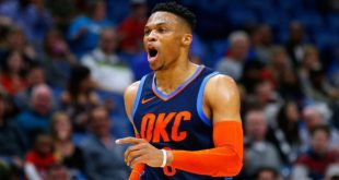 Russell Westbrook hace historia antes del  All-Star Game, pese a derrota del Thunder