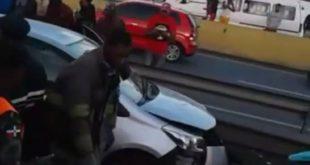 Mueren dos personas y otras dos resultan heridas en un accidente en San Cristóbal