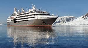 Barco de lujo Le Ponant llega por vez primera a Bahía de las Águilas