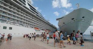 Turismo dice llegaron al país cerca de 400 mil cruceristas en primeros dos meses