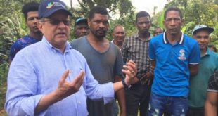 Ministro Medio Ambiente advierte sobre tala de árboles en Los Haitises