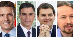 Candidatos españoles debaten sobre un futuro marcado por los nacionalismos