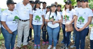 Senado realiza jornada de siembra de árboles en cuenca río Isabela
